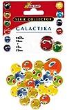 Kim'Play - 9037 - Jeu de Plein Air et Sport - 20 Billes + 1 Calot Galactika