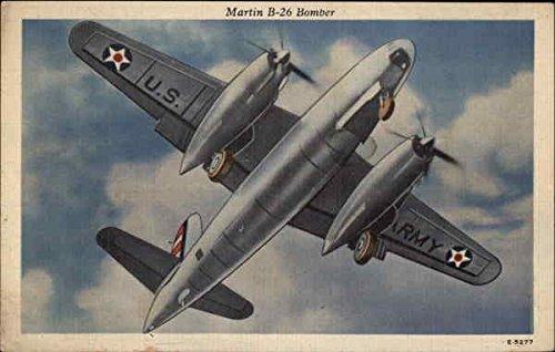 Martin B-26 Bomber Aircraft Original Vintage Postcard