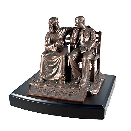 Lighthouse Christian Products Moments of Faith Wonderful Counselor Sculpture, 6 1/8 x 7 1/8