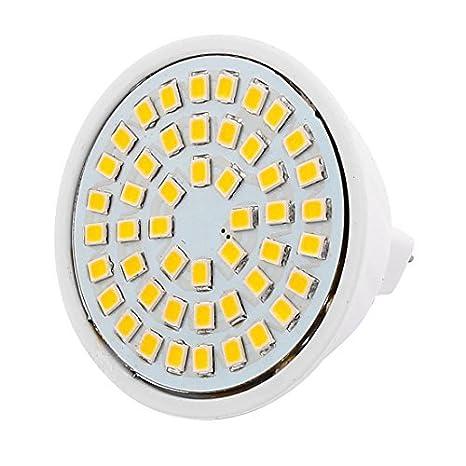 eDealMax MR16 SMD 2835 48 LEDs de plástico de ahorro de energía de la lámpara LED del bulbo caliente AC White 110V 4W - - Amazon.com