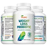 NEW Probiotic Weight Loss Diet Supplement - with Garcinia Cambogia, Green Coffee & White Kidney Bean 60 Delayed Release Daily Capsules Promotes Healthy Weight Loss and Appetite Suppressant