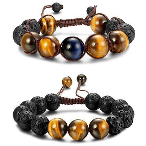 Jstyle Beaded Bracelets Adjustable Bracelet