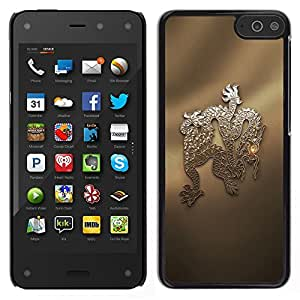 Amazon Fire Phone Único Patrón Plástico Duro Fundas Cover Cubre Hard Case Cover - Snake China Chinese Culture Dragon