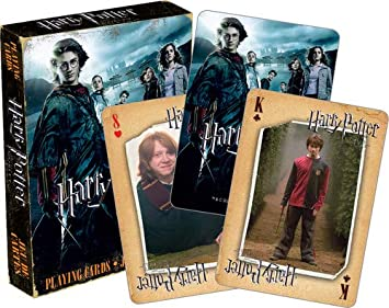 Harry Potter The Copa DE Fuego Carta de Juego (NM 52418 ...