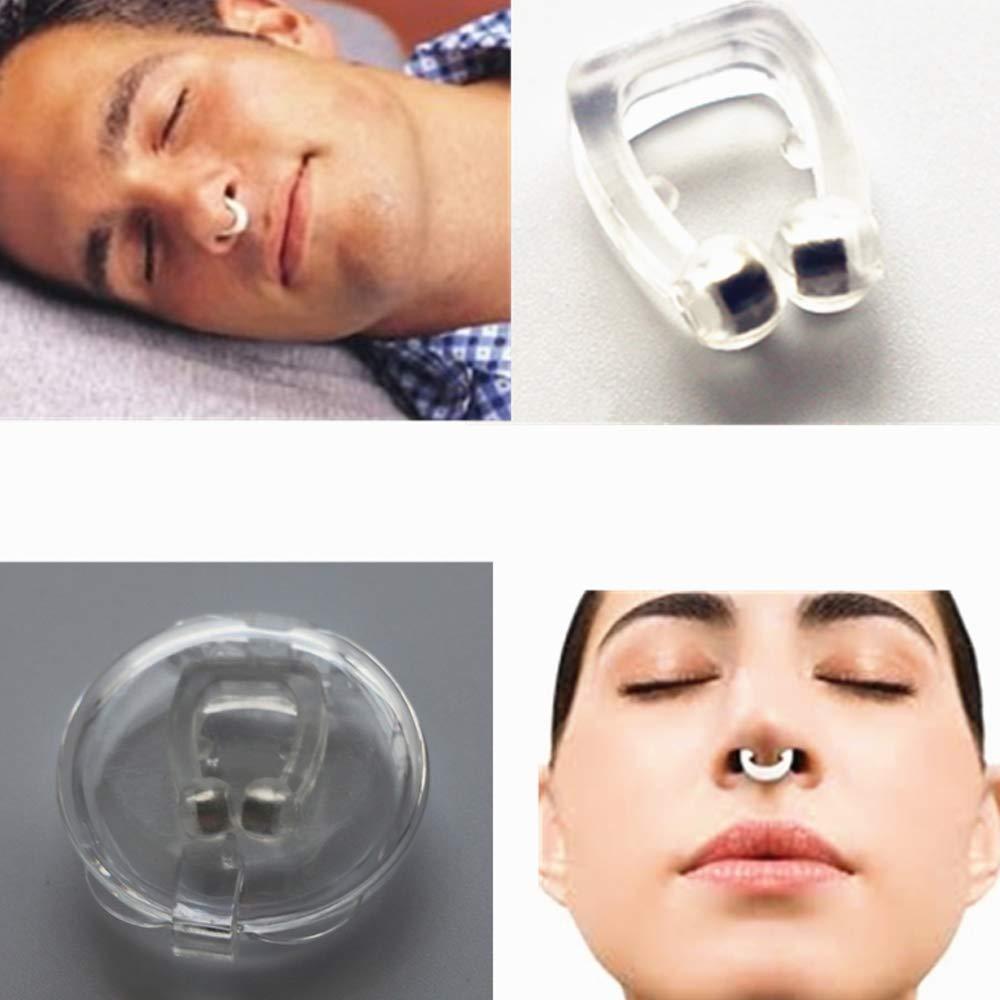 LHAO Dilatador Nasal Antironquidos Dental Anti Ronquidos Y Apnea Silicona de Grado Alimenticio, Solucion Ideal para Dejar De Roncar, Ayudar a Breathe, ...