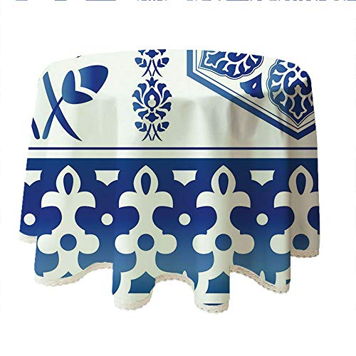 Buy antique blue white charger