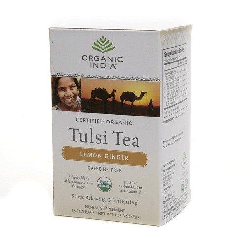 Organic India Tulsi Herbal Supplement Tea Bags