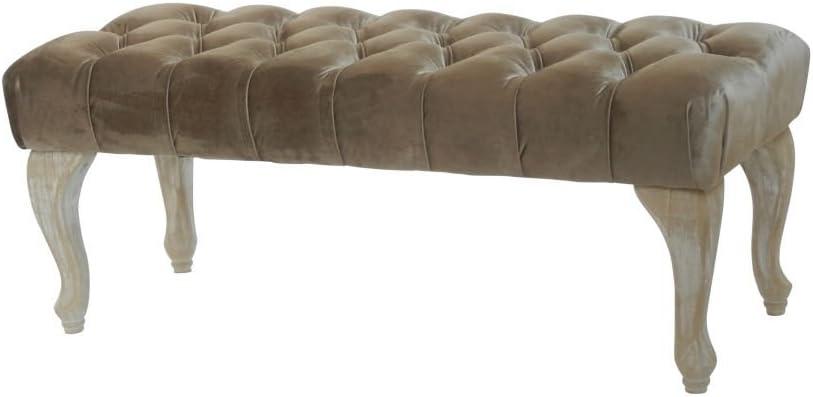 100 cm goldfarben Sitzbank Prime Versand Beauty.Scouts Lights /& Luxury Collection BAROCK Design POLSTERBANK Charlotte