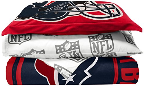 NFL Houston Texans Soft & Cozy 5-Piece Twin Size Bed in a Bag Set