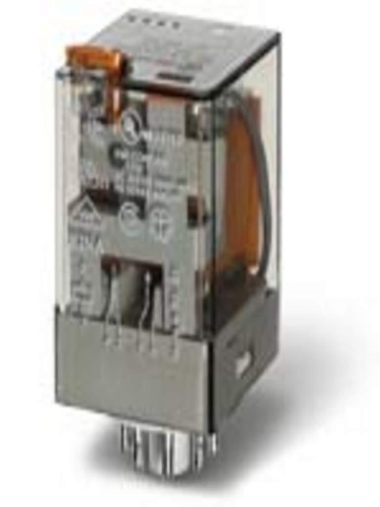 FINDER Relè Serie 60 12VDC 10A DPDT