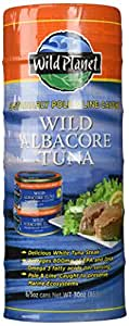 Wild Planet Wild Albacore Tuna Six 5oz. Cans