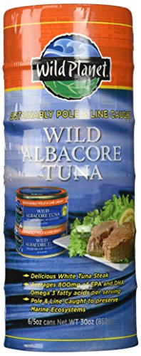 Wild Planet Albacore Tuna (Wild Planet Wild Albacore Tuna Six 5oz. Cans)
