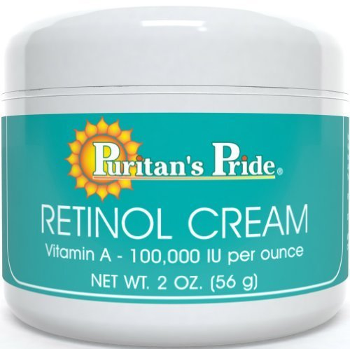 2 Pack of Puritan's Pride Retinol Cream (Vitamin A 100,000 IU Per Ounce)