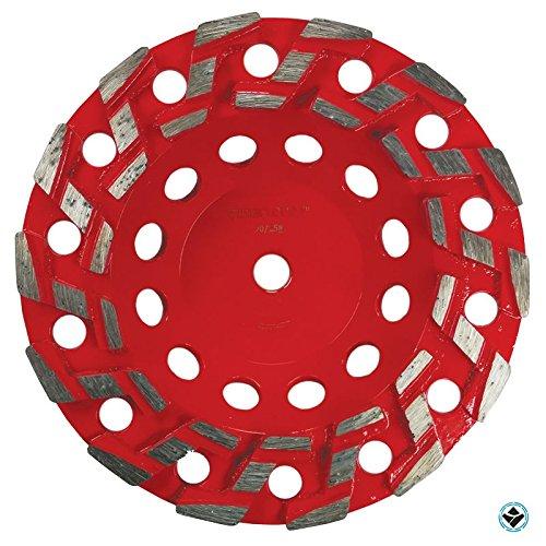 7-Inch Aggressive Grinding Wheel #20/25 Diamond 5/8