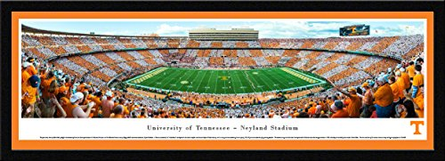 Tennessee Football - 50 Yard - Blakeway Panoramas College Sports Posters with Select ()