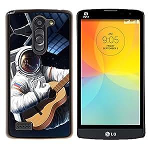 Be-Star Único Patrón Plástico Duro Fundas Cover Cubre Hard Case Cover Para LG L Prime / L Prime Dual Chip D337 ( Galassia Stelle 74 )