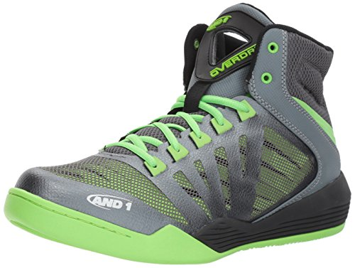 AND 1 Herren Overdrive Basketballschuh Castlerock / Grau / Jasmin