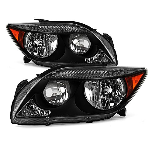ACANII - For 2005 2006 2007 Scion TC Headlights Headlamps Replacement 05 06 07 Driver + Passenger Side