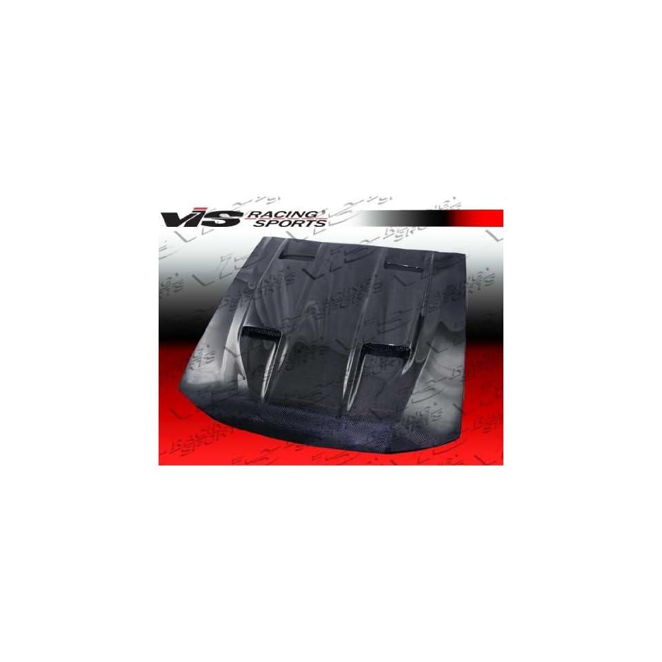 VIS 99 04 Ford Mustang Carbon Fiber Hood MACH 5 00/01
