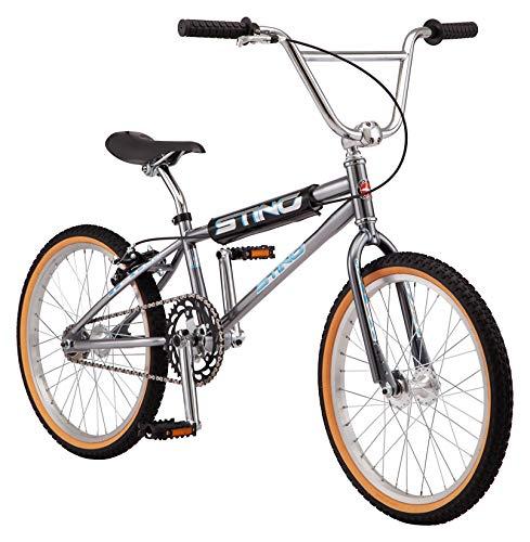 Schwinn Sting Pro and Predator Cruiser BMX Bike for Kids, Adults, Retro Design, Single-Speed, Hi-Ten Steel Frame, 20 or…