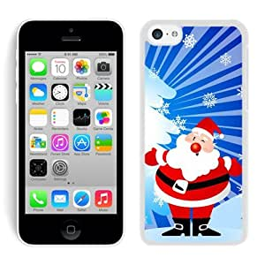 Recommend Design Iphone 5C Case Santa Claus White iPhone 5C Case 35