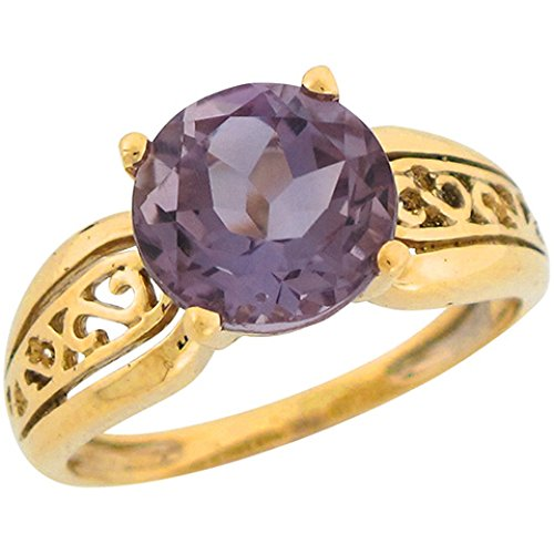 10k Real Yellow Gold 3.3ct Ame
