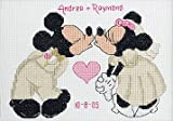 Mickey/Minnie Wedding Sampler Counted Cross Stitch Kit