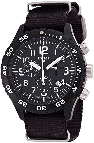 traser watch Officer Chronograph Pro P6704.4A3.I2.01 Men's [regular imported goods]