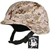 SHENKEL 米軍フリッツタイプヘルメット 迷彩カバー付き M88 USMC デザートマーパット met-008pb