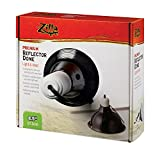 Zilla Premium Reflector Dome, Black 8.5