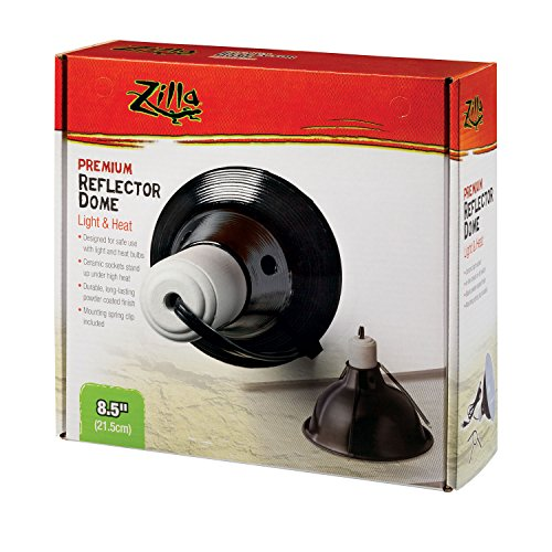 (Zilla Premium Reflector Dome, Black 8.5