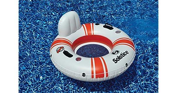 Amazon.com: Super Chill individual Tubo de piscina: Sports ...