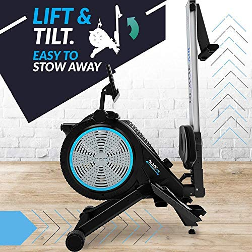 Bluefin-Fitness-Blade-Air-Rowing-Machine-Home-Use-Foldable-Dual-Magnetic-Air-Resistance-Rower-Kinomap-Live-Video-Streaming-Video-Coaching-Training-LCD-Digital-Console-Smartphone-App