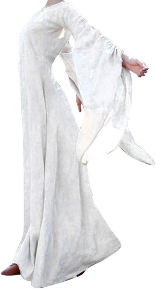 COZOCO Falda Retro Gótica De Otoño Invierno para Mujer Vestido ...