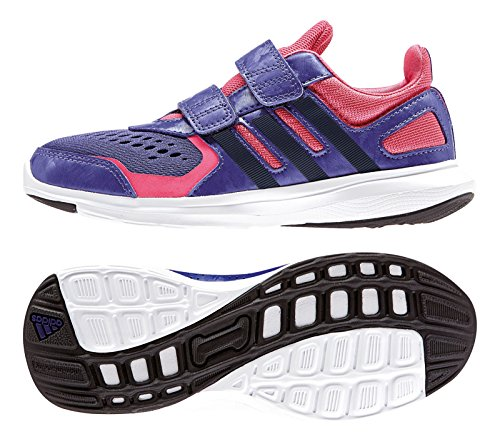 adidas Black Trainers Pink Purple Boys' Black RwrHqRC