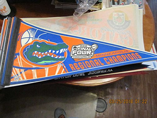 2006 Final Four Florida Regional Champions NCAA basketball pennant