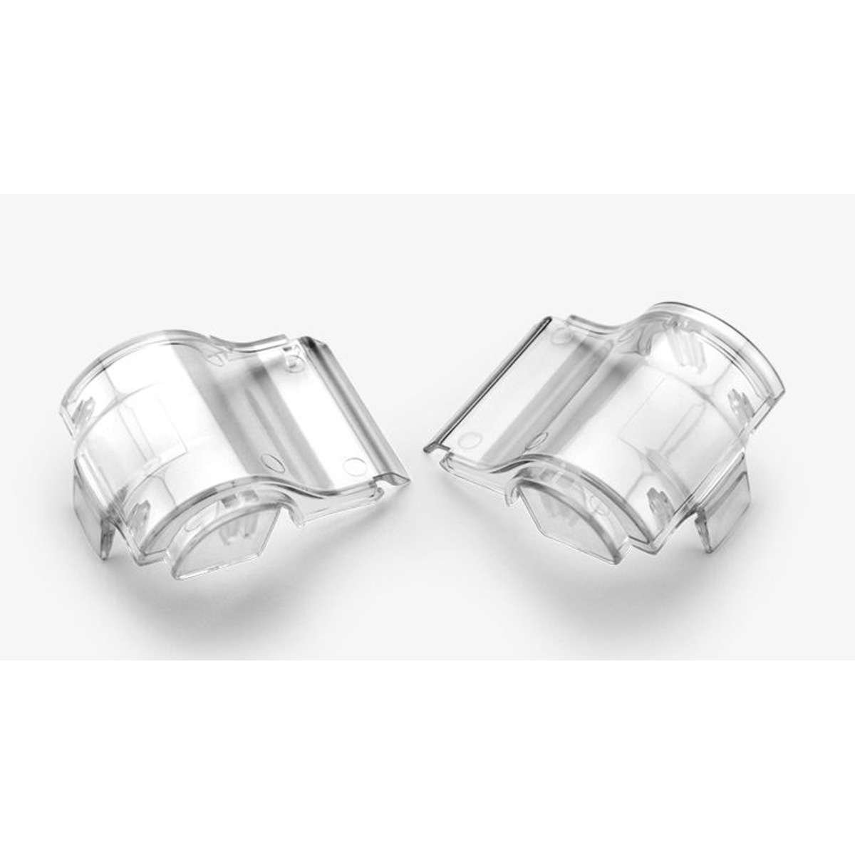 100/% 51024-010-02 Speedlab SVS Replacement Canister Lids-Pair Clear Lens Free Size
