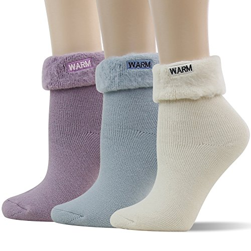 Thermal Crew Winter Socks, SUTTOS Women
