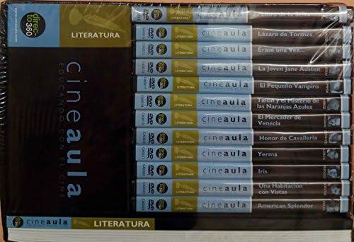 Pack Literatura Cine Aula educando con el Cine 12 DVD + GUA ...