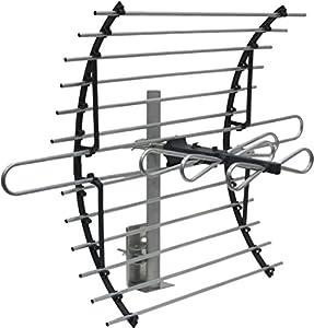 GE 33692 Attic Mount HD TV Antenna – 60 Mile Range – Indoor Long