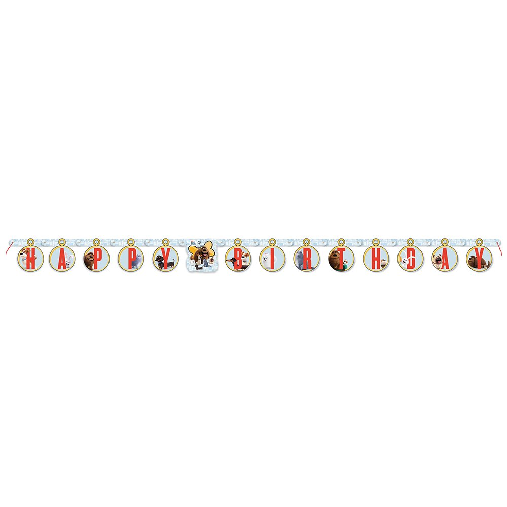 6ft The Secret Life of Pets Birthday Banner