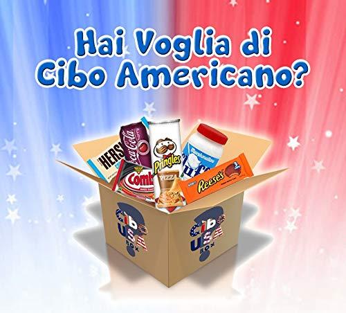 Cibo USA Box , Box Snack Americani Dolci/Salati \u0026 Drinks a Sorpresa ,  American