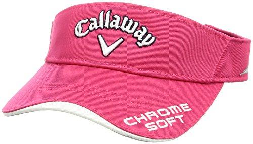 (キャロウェイ アパレル) Callaway Apparel 定番 ロゴ入り バイザー (ツアーモデル) 帽子 ゴルフ/247-7990806 [ レディース ]