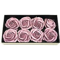 """2"""" Mauve Mulberry Paper Flowers, Mauve Roses, Paper Roses, Flower Backdrop, Mauve Wedding Decor, DIY Flower Crown, Mauve Paper Roses, Paper Flower, 10 Pieces"""