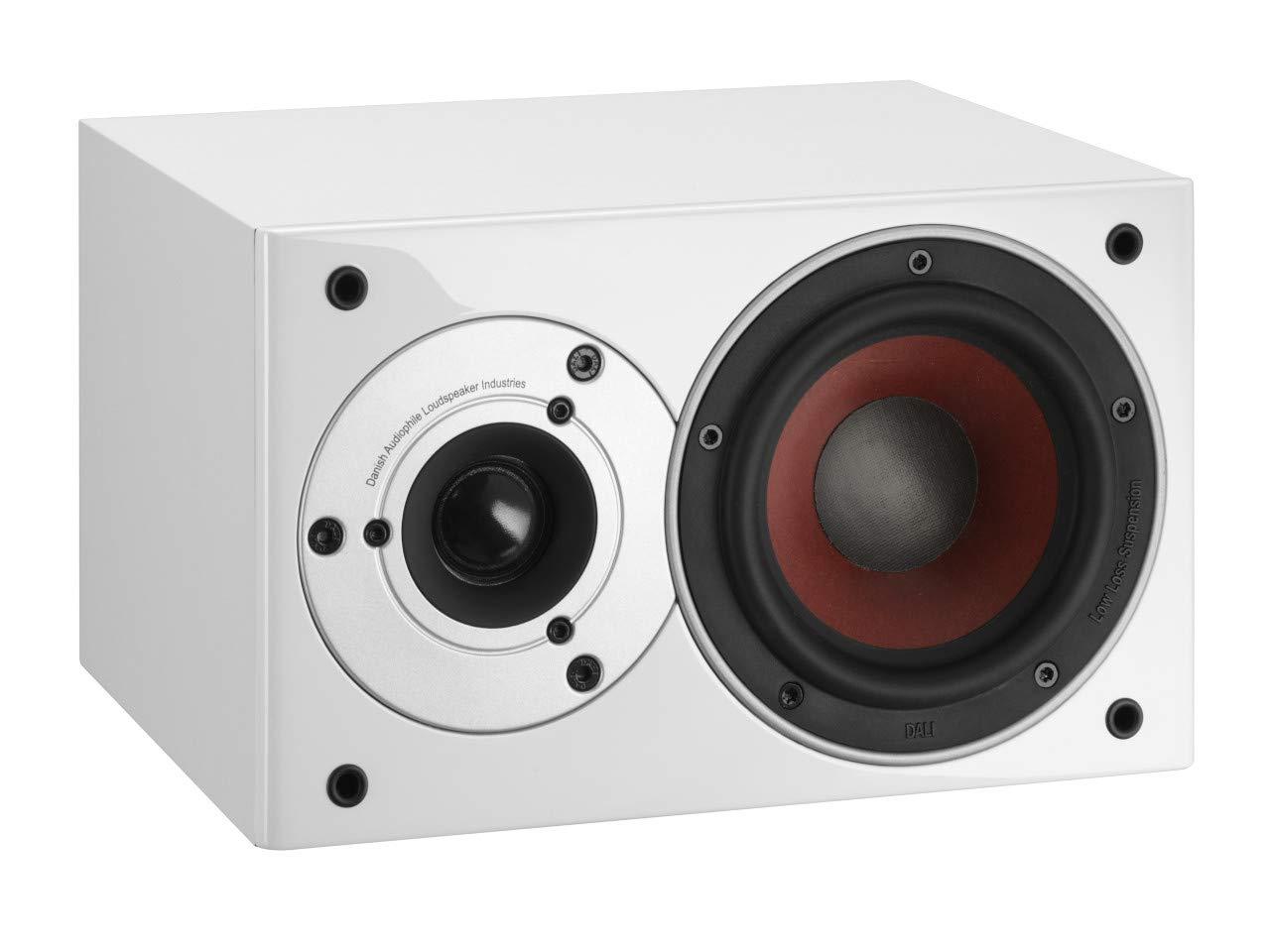 Dali Zensor Pico Vokal Color Blanco, Negro Altavoz - Altavoces (Alámbrico, 62-26500 Hz, 6 Ω, Blanco, Negro)