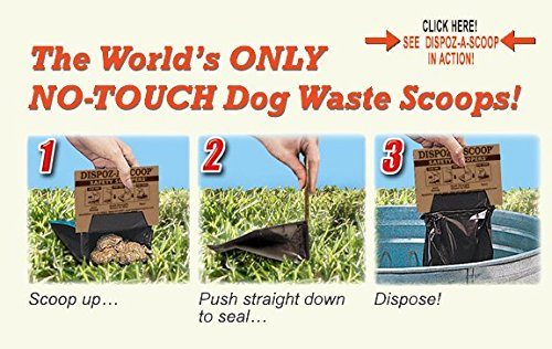 HealthPro Dispoz-A-Scoops for Dogs - 96 pack by Dispoz-A-Scoop (Image #2)