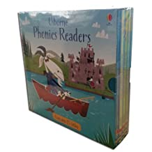 Usborne Phonics Young Readers 15 Picture Books Box Set Collection Pack (Racoon on the Moon, Goat in the Boat, Llamas in Pyjamas, Fox on a box, Ted in a Red Bed, Teds Shed, Hens Pens, Big Pig on a Dig, Fat Cat on a Mat, Goose on a Loose, Frog on a Log, Toad Makes a Road, Mouse Moves House, Sam Sheep Cant Sleep, Shark in a Park) (Usborne Phonics)