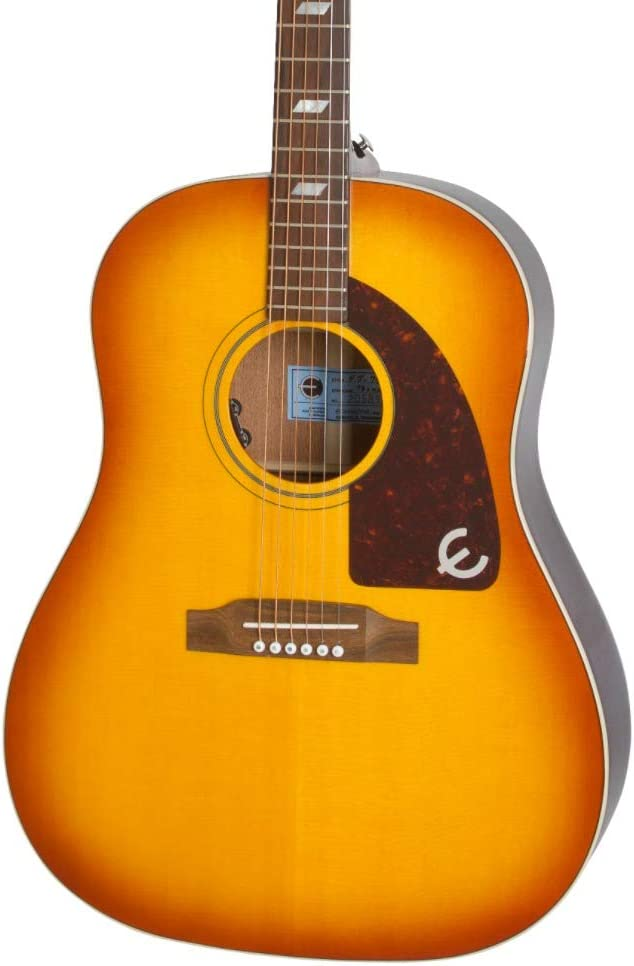 """Epiphone Limited Peter Frampton""""1964"""" Texan Premium Outfit w/LR Baggs DS-ELE"""