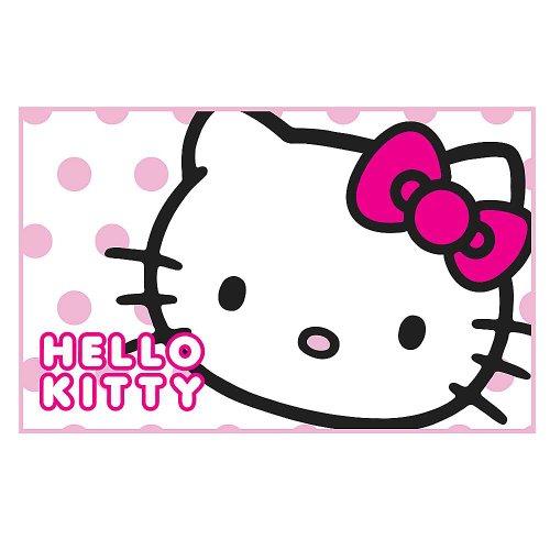 Hello Kitty Bedroom Floor Rug/Mat