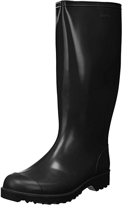 Amazon.com   Nora Mens rain Boots Black